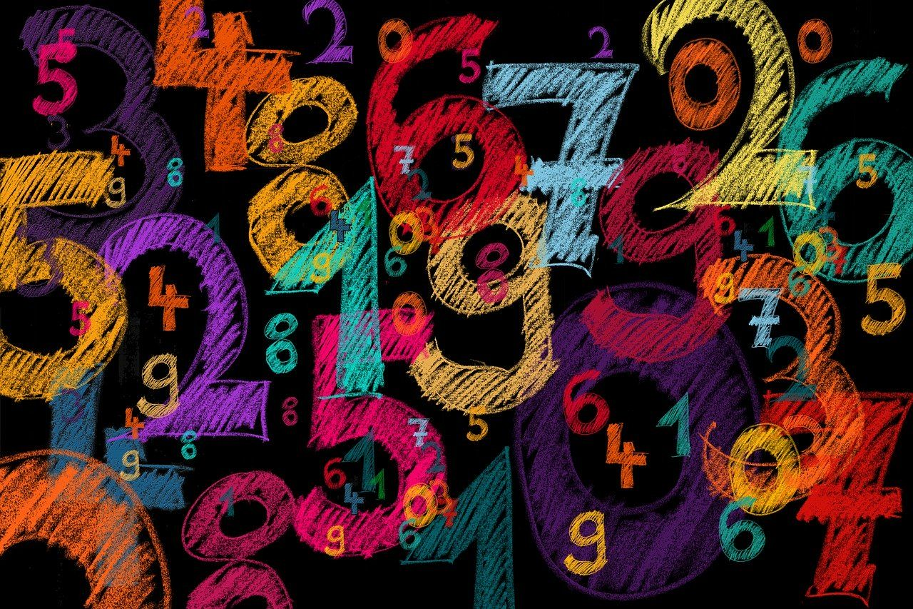 background, numbers, counting numbers